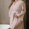 Knitted Interlock Bath Robe