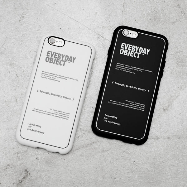 【現貨】EVERYDAY OBJECT X RHINOSHIELD 三週年 iPhone 保護殼 │ 兩色