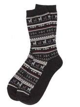 Load image into Gallery viewer, Alpaca Socks - Black %Women's Clothing Boutique Collingwood% Socks