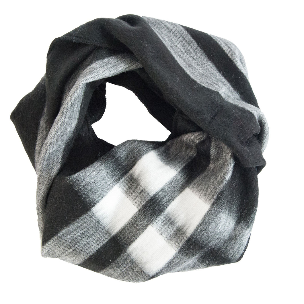 Alpaca Tartan Infinity Scarf %Women's Clothing Boutique Collingwood% Scarf