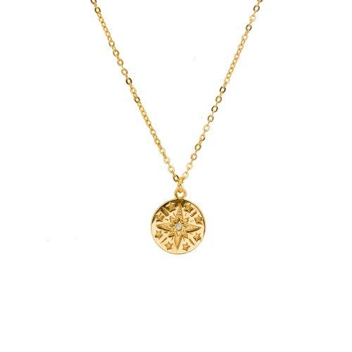 Copy of North Star Necklace- Gold %Women's Clothing Boutique Collingwood% Necklace