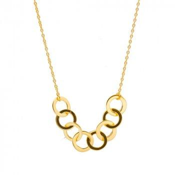 Interlocking Rings Necklace %Women's Clothing Boutique Collingwood% Necklace