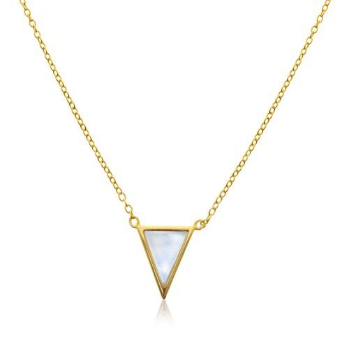 Triangle Necklace %Women's Clothing Boutique Collingwood% Necklace