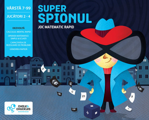 Joc Educativ Matematic - Super Spionul