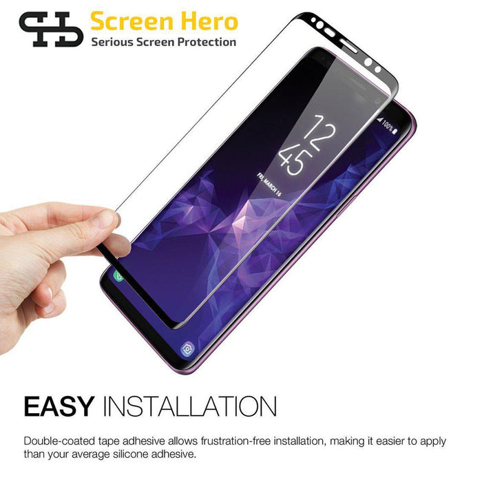 Samsung Galaxy S9 Tempered Glass Screen Protector from Screen Hero - ScreenHero_ie