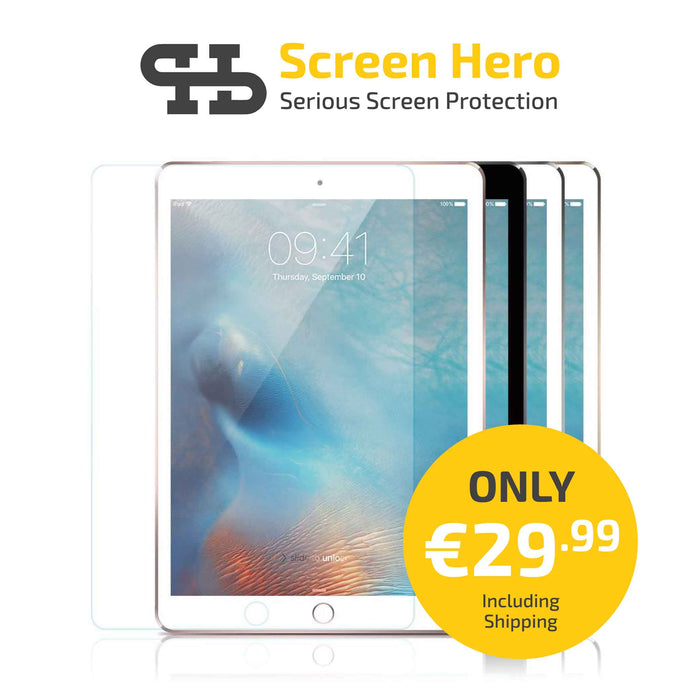 iPad Mini 4 / Mini 5 2019 Tempered Glass Screen Protector from Screen Hero - ScreenHero_ie