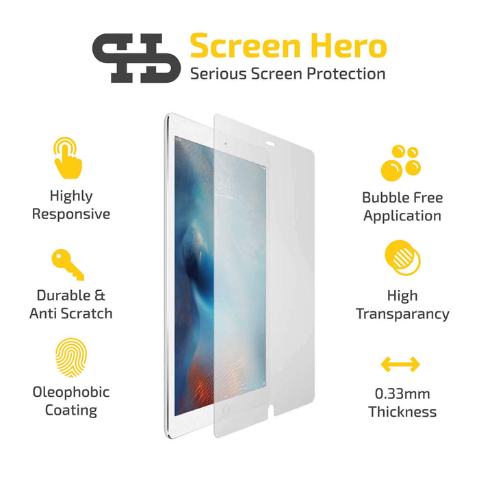 iPad Pro 10.5 Tempered Glass Screen Protector - ScreenHero_ie