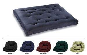 Deluxe Futon Pad Double Size Comes In 5 Colors