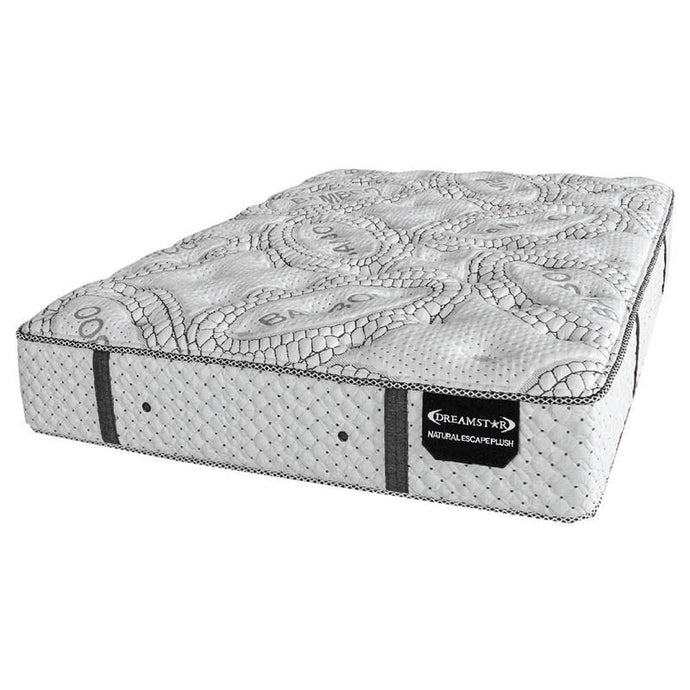 Natural Escape Plush All Natural Latex Mattress CUSTOM MADE FOR ADJUSTABLE BASES