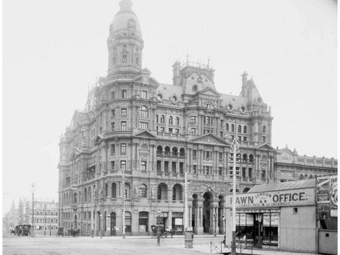 A historical photo of the Coffee Palace. Image via the ABC