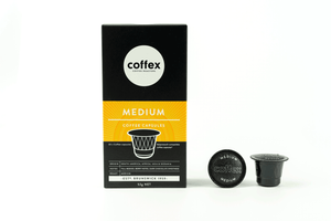 Coffex Nespresso® Compatible Capsules Medium
