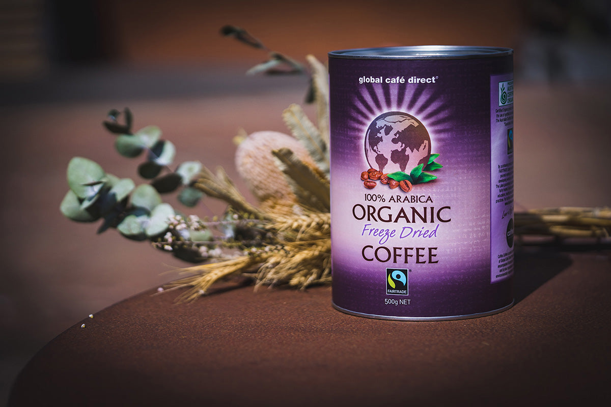 GCD Fairtrade Organic Instant Coffee