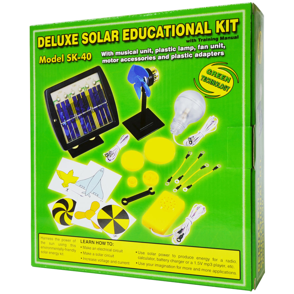 Deluxe Solar Kits Educational Kit
