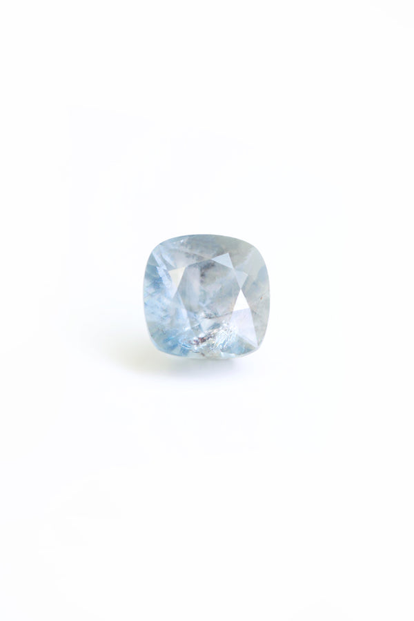 """INCEPTION"" 7.3mm x 7.7mm NATURAL SAPPHIRE"