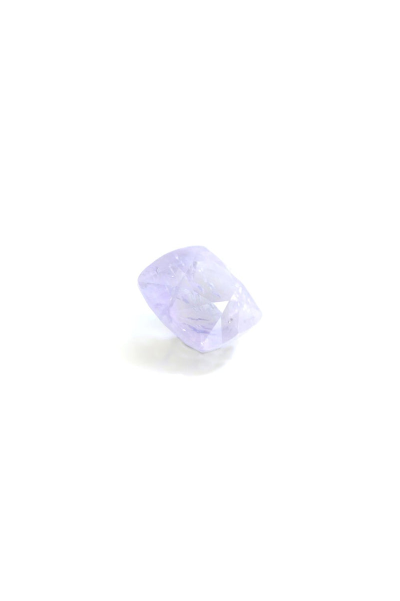 """PINK LADY"" 7mm x 7mm NATURAL SAPPHIRE - Staghead Designs - Antler Rings By Staghead Designs"