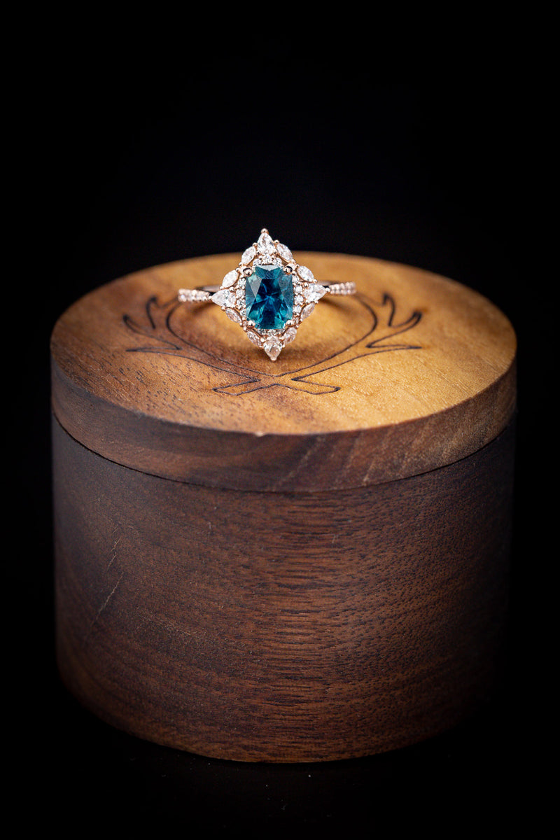 Custom Engagement Ring - Vintage Style Engagement Ring - Staghead Designs