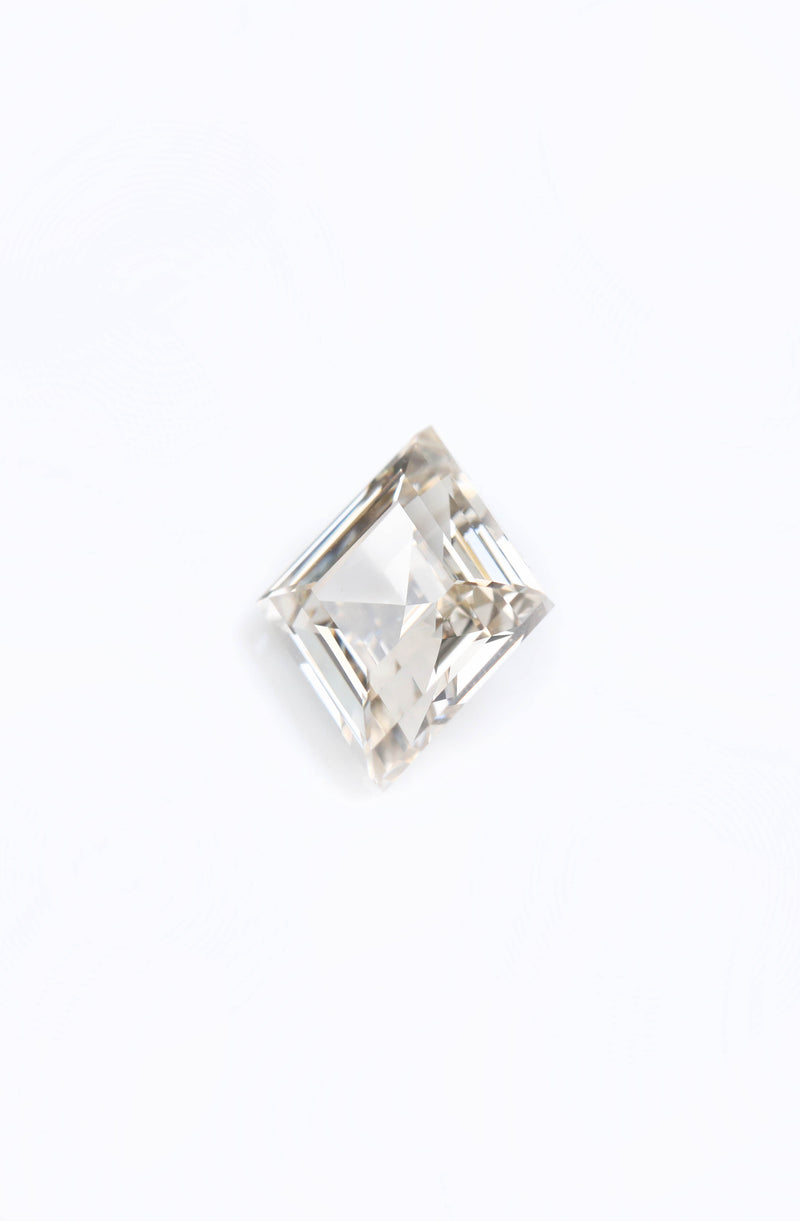 "NEW - ""Gwenivere"" GIA certified Step Cut Champagne Diamond 2.40 ct"