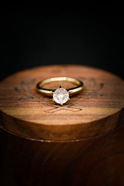 Custom Women's Engagement Ring - Moonstone Engagement Ring - Staghead Designs