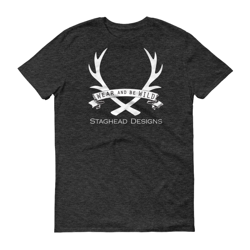 STAGHEAD FULL LOGO T-SHIRT (several color options) -  Custom Rings Handcrafted By Staghead Designs