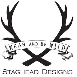 Titanium to Black Zirconium For Order #15376 - Staghead Designs - Antler Rings By Staghead Designs