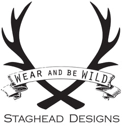 Silver or Gold Inlays - Staghead Designs - Antler Rings By Staghead Designs