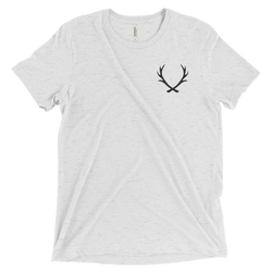 TRI-BLEND STAGHEAD T-SHIRT (many color options) - Staghead Designs - Antler Rings By Staghead Designs