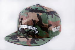 Camo Staghead Designs SnapBack - Staghead Designs - Antler Rings By Staghead Designs