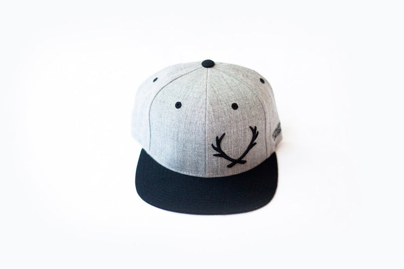 OFFSET STAGHEAD SNAPBACK - Staghead Designs - Antler Rings By Staghead Designs