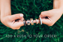 Extreme Rush Service Fee -  Custom Rings Handcrafted By Staghead Designs