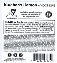 Load image into Gallery viewer, Blueberry Lemon Whoopie Pie - 4 Pack
