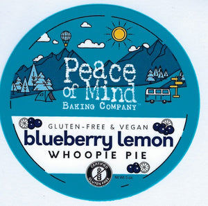 Blueberry Lemon Whoopie Pie - 4 Pack
