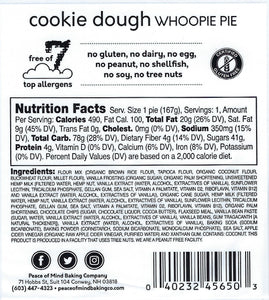 Cosmic Cookie Dough Whoopie Pie - 4 Pack