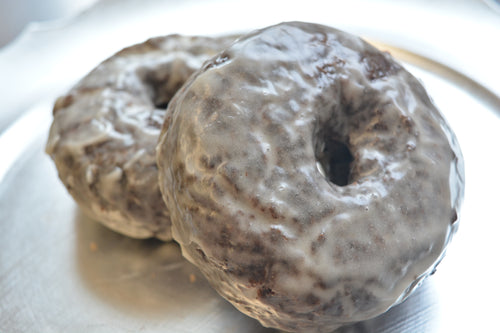 Chocolate Glazed Donuts - 4 Pack