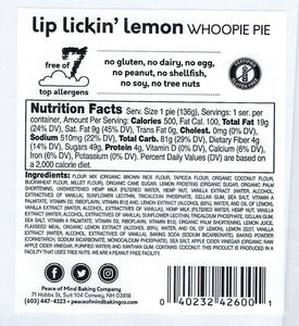 Lip Lickin' Lemon Whoopie Pie - 4 Pack