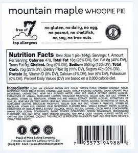 Mountain Maple Whoopie Pie - 4 Pack