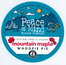 Load image into Gallery viewer, Mountain Maple Whoopie Pie - 4 Pack