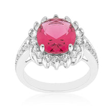 Load image into Gallery viewer, Red Cambridge Elegance Ring