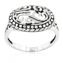 Load image into Gallery viewer, Antique Filigree Crest Ring