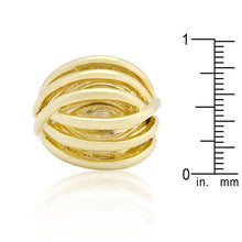 Load image into Gallery viewer, Golden Illusion Fashion Ring
