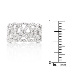 Load image into Gallery viewer, Cubic Zirconia Circular Ring