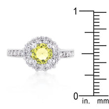 Load image into Gallery viewer, Bella Birthstone Engagement Ring in Yellow