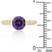 Load image into Gallery viewer, Purple Isabelle Engagement Ring