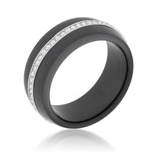 Load image into Gallery viewer, Ceramic Band Ring - Black