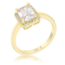 Load image into Gallery viewer, Mariane 2ct CZ 14k Gold Classic Ring