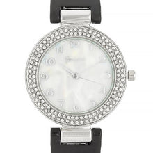 Load image into Gallery viewer, Crystal Watch - Black
