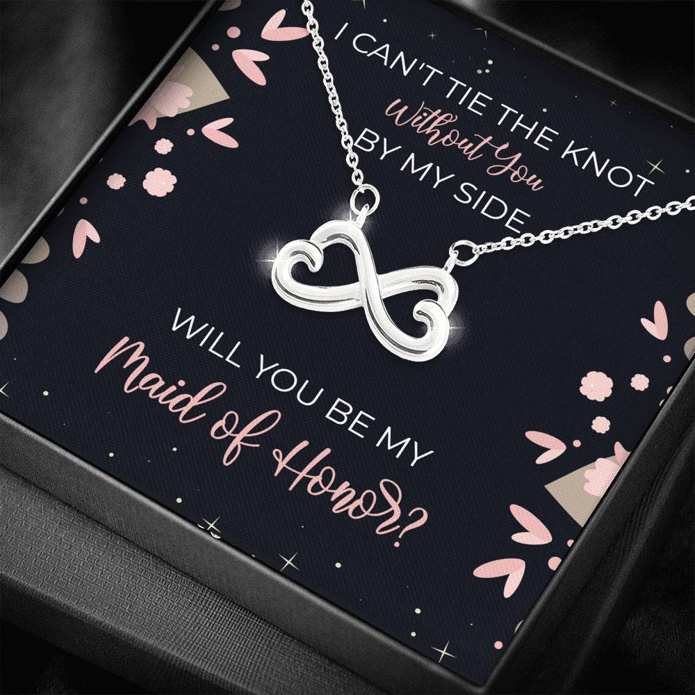 Elegant Maid of Honor Gift