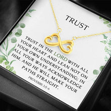 Load image into Gallery viewer, Trust Infinite Love Necklace