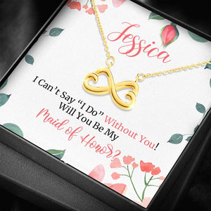 Personalized Maid of Honor gift