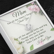 Load image into Gallery viewer, Thank You Mom Necklace
