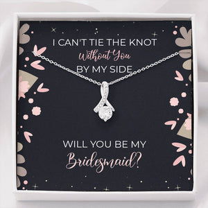 Elegant Will you be my Bridesmaid